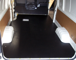 KAT Vehicle Shelving  Timber Flooring and Rubber Matting