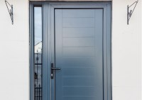 Aluminium Entrance Doors - KAT UK