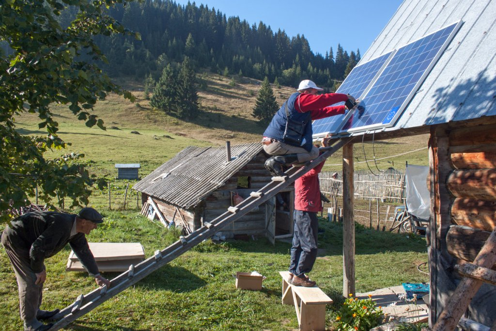 EU funded project reaching out to rural families that have never benefited from similar projects in past