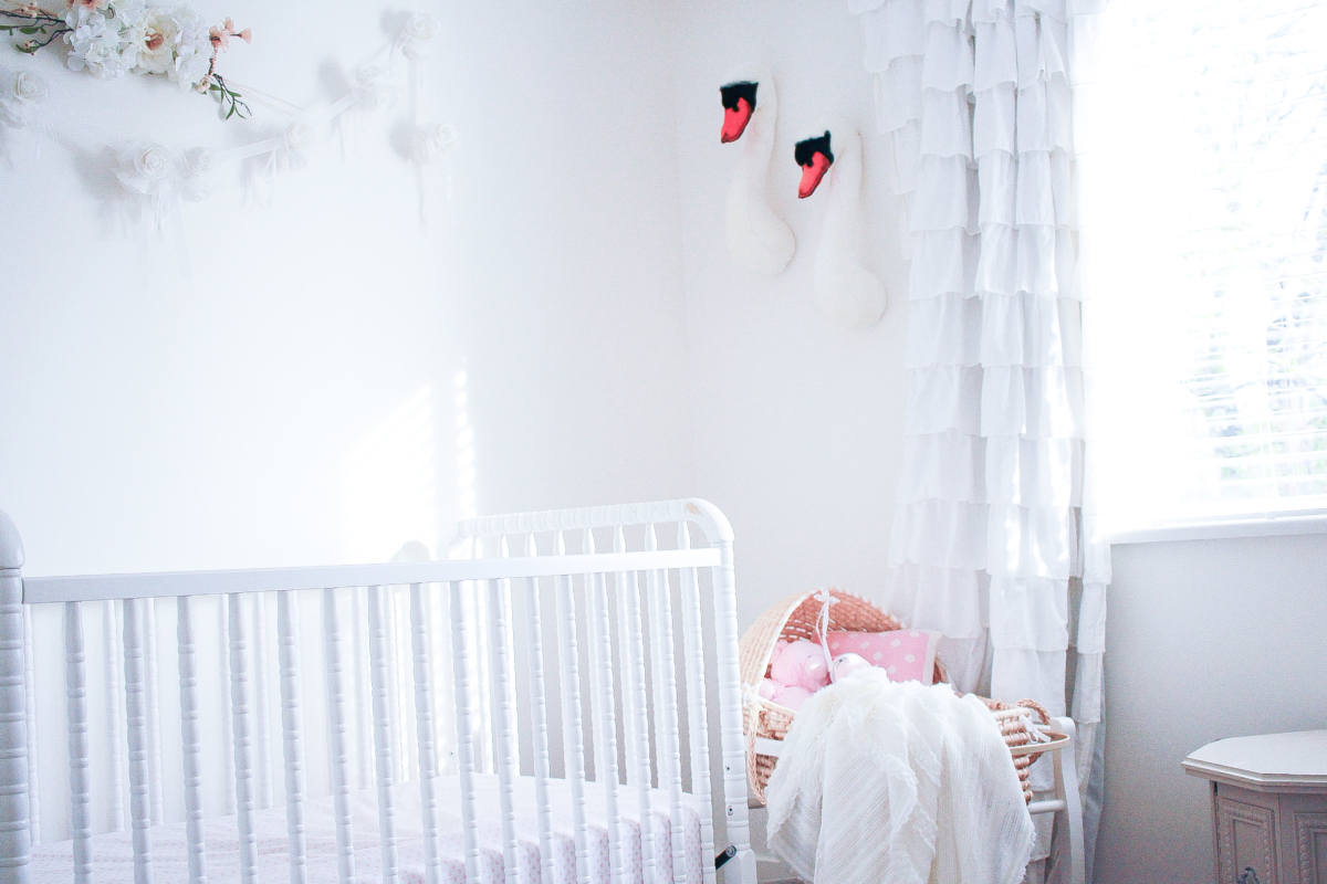 The Perfect Detail for Girl's Nursery: with Brooklyn's Room