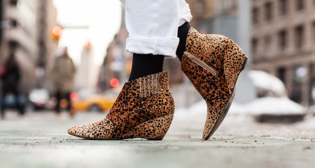 KatWalkSF Matisse Nugent Ponyhair Ankle Boot