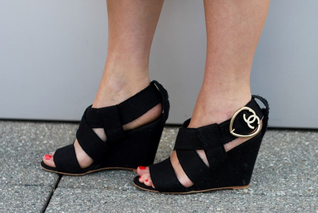 KatWalkSF Chanel Wedges