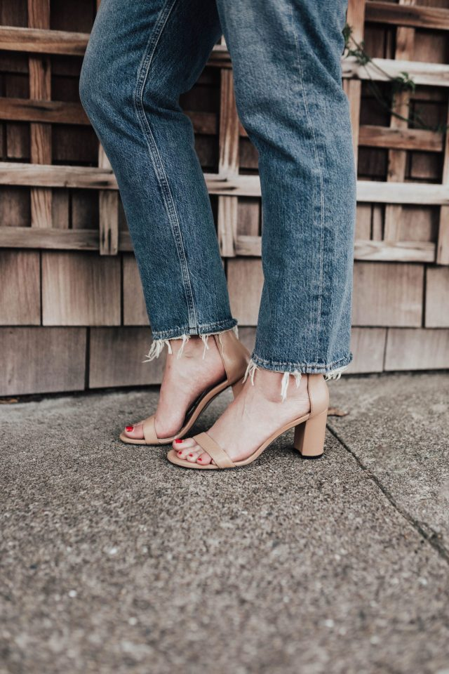 Nearlynude Review, Stuart Weitzman, Shoes, Comfortable Shoes, Wedding Shoes, Sandals, Comfortable Sandals