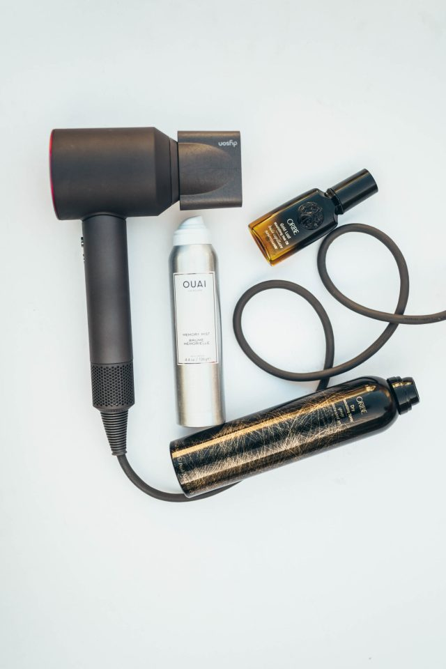 Dyson, Dyson Review, Dyson Blow Dryer, Dyson Dryer, Oribe, Oribe Oil, Oribe Texture Spray, Hair Review, Hair Products