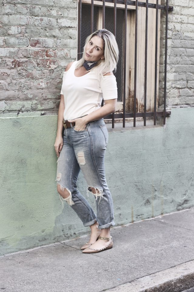 cold shoulder top - h&m - street style - katwalksf