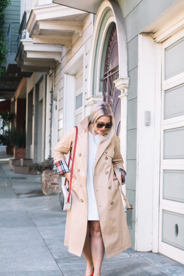Trench Coat, Fall Fashion, Uniqlo, JW Anderson, Everlane, Everlane Day Heel, Gucci, Gucci Bag, Le Specs, KatWalkSF, Kathleen Ensign, Kat Ensign, San Francisco Blogger, Blogger Style, Top San Francisco Blogger, Fashionista, Fashion Diaries, Karen Walker, SF Blogger