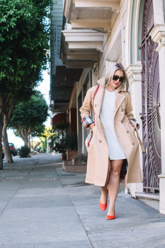 Classic Trench Coat For Fall. Trench Coat, Fall Fashion, Uniqlo, JW Anderson, Everlane, Everlane Day Heel, Gucci, Gucci Bag, Le Specs, KatWalkSF, Kathleen Ensign, Kat Ensign, San Francisco Blogger, Blogger Style, Top San Francisco Blogger, Fashionista, Fashion Diaries, Karen Walker, SF Blogger