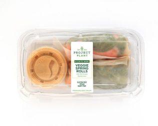 Project Juice - Veggie Spring Rolls