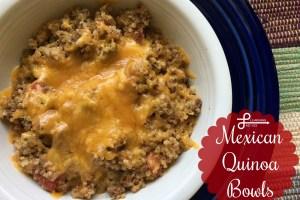 mexican quinoa bowls