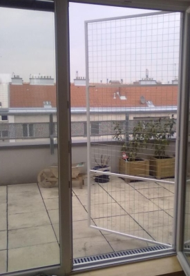 Katzengitter  Katzenschutzgitter  Katzensicherung  Netzmontage  Netze  Insektenschutz