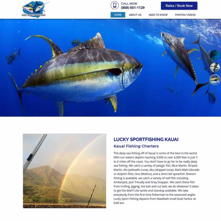 sportfishing kauai website