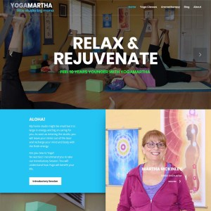 Hawaii Yoga Studio Website
