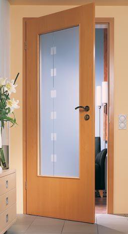 Zimmertren Mit Glas Modern  Haus Deko Ideen