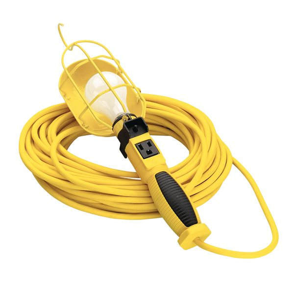 Coleman Cable 58588802SW 163 50 SJEO Trouble Light