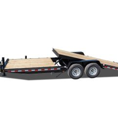 15000 gvwr deluxe wood floor tilt equipment trailer [ 4608 x 3456 Pixel ]
