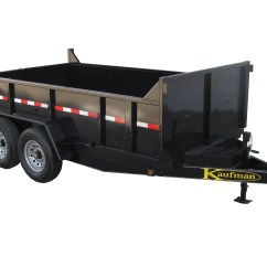 Dump Trailers For Sale Drive Isolation Transformer Wiring Diagram By Kaufman 866 455 7444 12000 Gvwr Deluxe Trailer