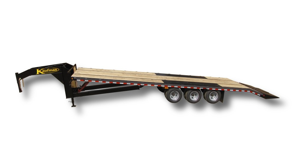 medium resolution of deluxe 38500 gvwr flatbed tilt gooseneck trailer