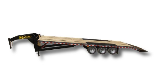 small resolution of deluxe 38500 gvwr flatbed tilt gooseneck trailer