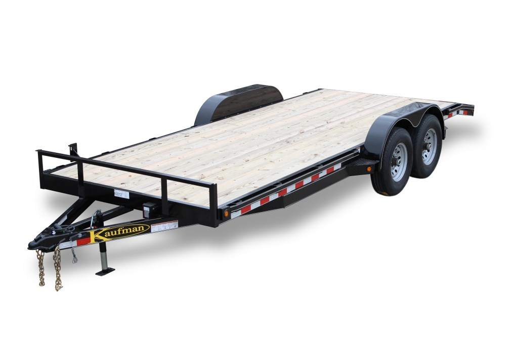 medium resolution of deluxe 12000 gvwr flatbed utility trailer 20 ft
