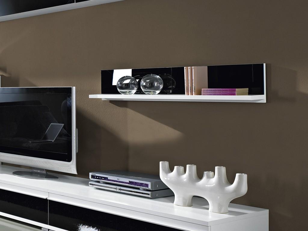 Wohnzimmer Wohnwand 8tlg Vitrine TV Board Hngeschrank