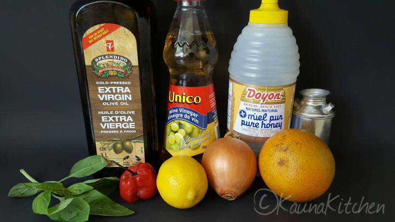 orange and basil dressing ingredients