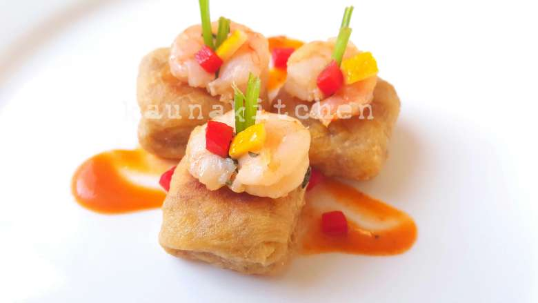 Plantain canapes
