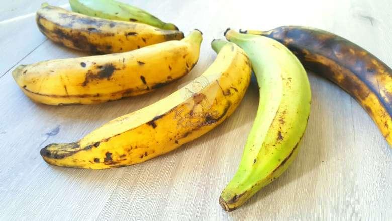 Nigerian plantains