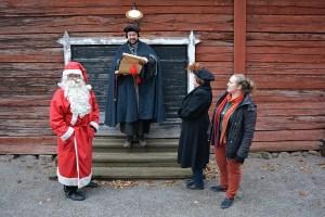 Menneen ajan joulumarkkinat Lohjalla