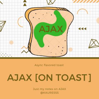 AJAX on toast