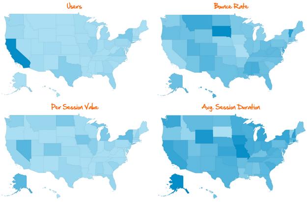 key metrics map overlay dashboard