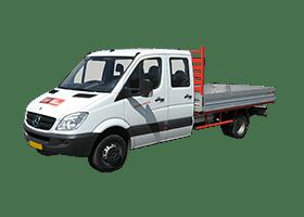 Huren pickup KAV Autoverhuur