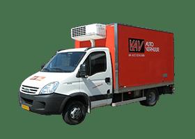 huren koelwagen KAV Autoverhuur