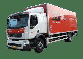 Button voor het aanbod van vrachtwagens bij KAV Autoverhuur