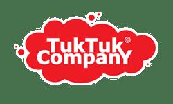 Button die leidt naar de website van Tuk Tuk Company