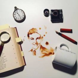 Arc - Festmények kávéból - Giulia Bernardelli
