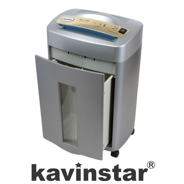 Kavinstar A6-1.8T Confidential Paper Shredder Machine Shred Upto 15-17 Sheets (70gsm) at a time with Noiseless Shredding
