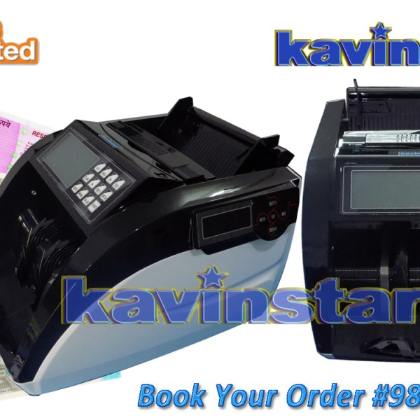 Kavinstar VELCHEK Heavy Duty Currency Counting Machine with Fake Note Detector