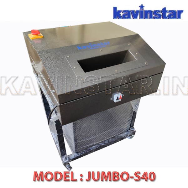 Kavinstar JUMBO S40 Straight Cut Heavy Duty Paper Shredder Machine or Paper Katran Machine Shred Up to 40-45 Sheets at a time