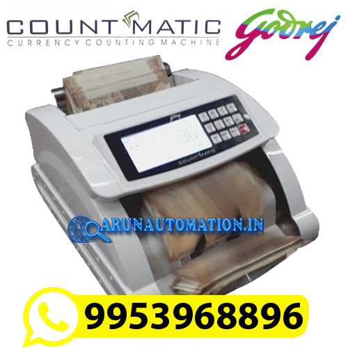 Godrej COUNT MATIC Note Counting Machine with Fake Note Detector