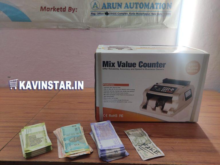 Mix cash counting machine