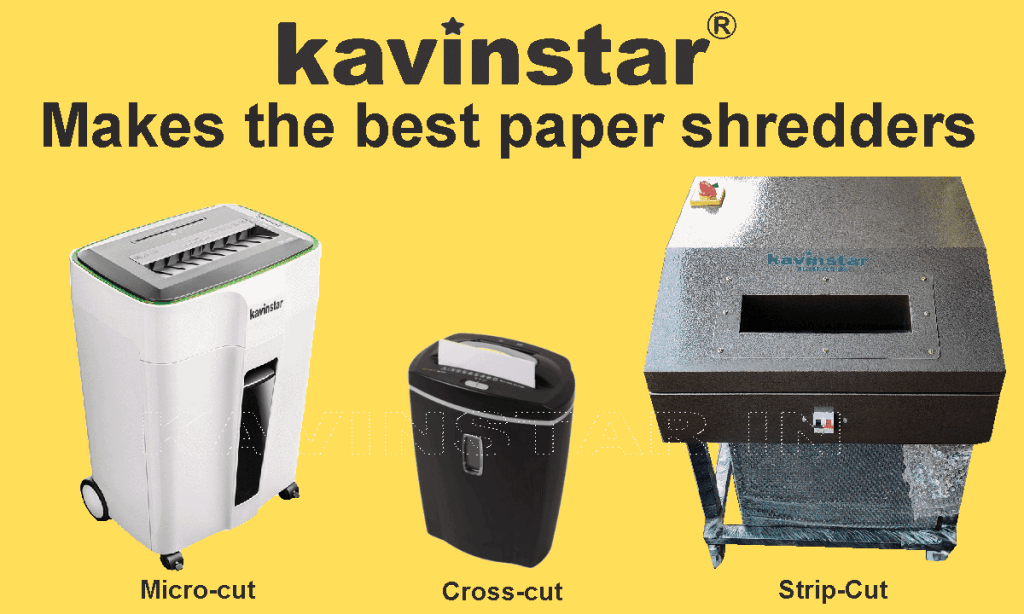 types-of-paper-shredder-machine