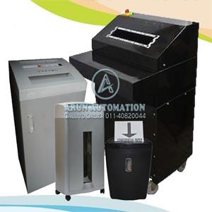 paper shredding machine