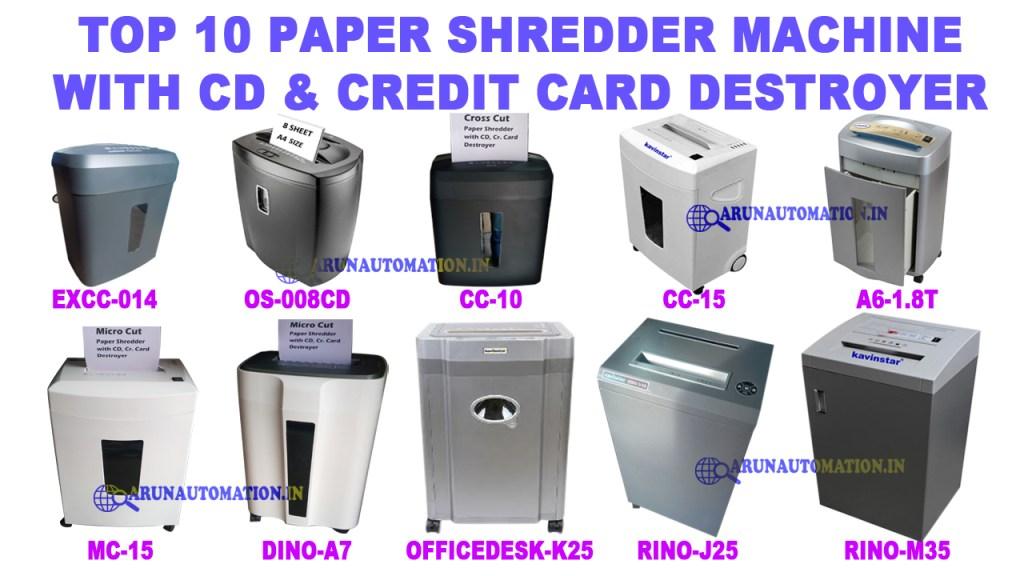 top-10-best-paper-shredder-machine-in-india