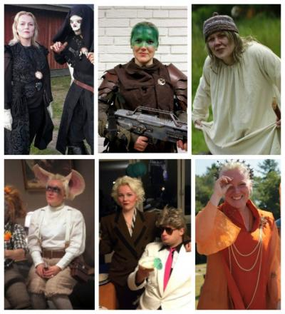 The many faces of LARP