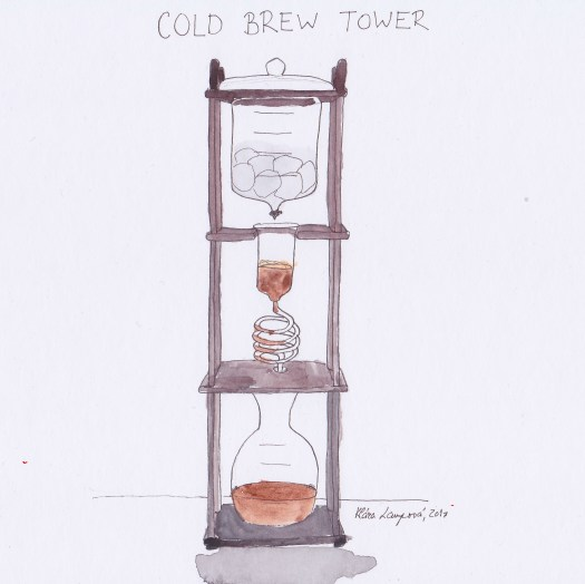 cold brew tower