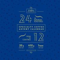 Adventní kalendář s výběrovou kávou