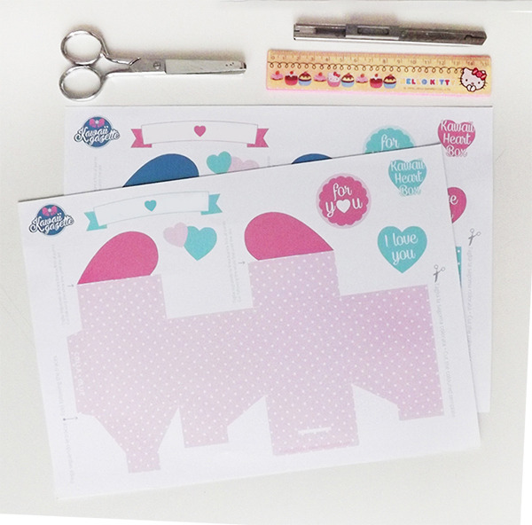 Kawaii Heart Box