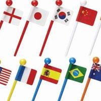 Flags food picks