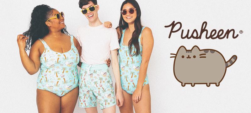 Pusheen beachwear