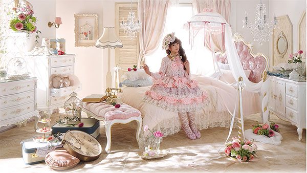 Lolita Interior Princess Room